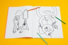Tin & Ed Colouring Book – Double Visions - AGI