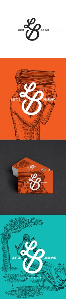 Reader Bertrand – Rebranding by Vera Gomes on Inspirationde