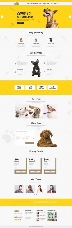 Groomax – Pet Grooming & Shop on Inspirationde