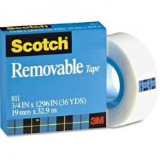 Scotch® Magic™ 811 eltávolítható ragasztószalag 19 mm x 33 m - 3M Ft Ár 1,179