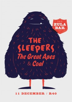 The Sleepers, The Great Apes & Coal – Furry Monster on Inspirationde