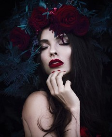 Dark Beauty and Fine Art Portrait Photography by Kenul Rustamova