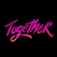 Together – Hand Lettering Vol. 7 on Inspirationde