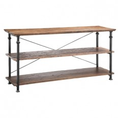 3-Tier Reclaimed Wood Console Table | Kirklands