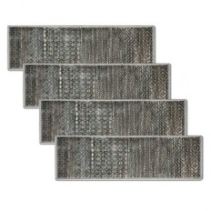 Nomad Geo Low Profile Stair Treads-Set of 4 | Improvements Catalog