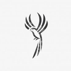 Bird Mark by Marcin Plo?ski on Inspirationde