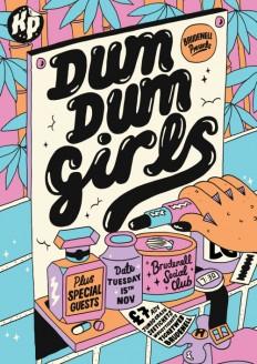 Dum Dum Girls on Inspirationde