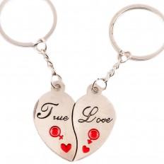 Ghasitaram I Love you Couple Keychain   Hampers - HomeShop18