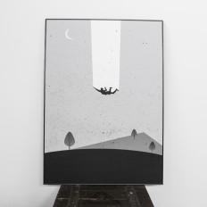 "Poster - Piotr Laskosz ""Insomnia"