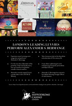 Hippodrome Casino — London's leading luvvies perform Alexander S....