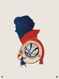 Doctor Strange – Poster Posse by Matt Needle on Inspirationde