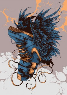 Sneaker Beasts by Ivan Belikov on Inspirationde