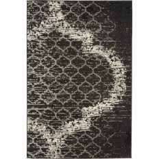 Unique Loom Trellis Charcoal Gray 4 ft. x 6 ft. Area Rug-3134417 - The Home Depot