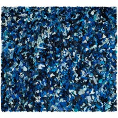 Safavieh Rio Shag Blue/Multi 8 ft. x 8 ft. Square Area Rug - SG951C-8SQ - The Home Depot