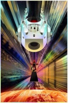 2001: A SPACE ODYSSEY (Foil Variant) – TRAGICSUNSHINE