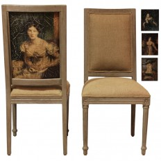 La Dame French Dining Chair - Provence Chic