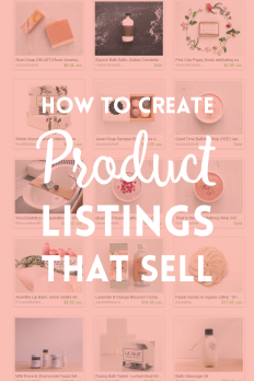 PRODUCT LISTINGS THAT SELL on Inspirationde