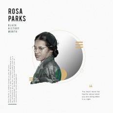 Rosa Parks Black History Month. on Inspirationde
