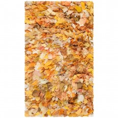 Safavieh Rio Shag Gold/Multi 2 ft. 6 in. x 4 ft. Area Rug - SG951G-24 - The Home Depot