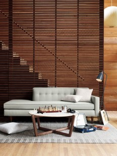 Horizontal pattern for staircase wall on Inspirationde