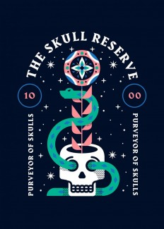 The Skull Reserve by Adam Grason on Inspirationde
