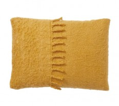 Mohair Tassel Lumbar Pillow Cover   Pottery Barn