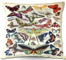 East Urban Home Butterflies Throw Pillow & Reviews | Wayfair