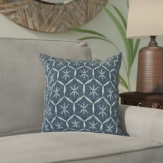Bungalow Rose Marcos Diamond Throw Pillow & Reviews | Wayfair