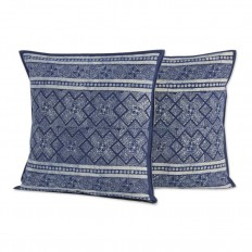 Novica Thai Artisan Crafted Batik Cotton Pillow Cover & Reviews | Wayfair