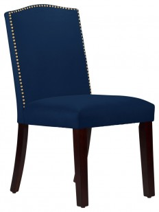 Skyline Furniture MFG. - Nail Button Arched Dining Chair - View in Your Room! | Houzz