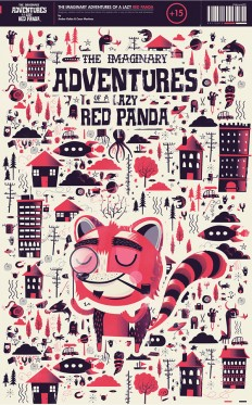 The Imaginary Adventures of a Lazy Red Panda on Inspirationde