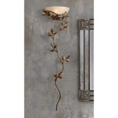 """Kenroy Home 53"""" High Flower and Vine Wallchiere Light - Lamps Plus Open Box Outlet Site"""