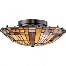 "Quoizel Inglenook 16 1/2"" Wide Valiant Bronze Ceiling Light - Lamps Plus Open Box Outlet Site"
