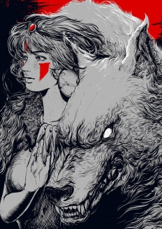 Princess Mononoke by edz Gatdula on Inspirationde