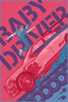 Baby Driver Alternate Movie Poster on Inspirationde