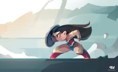 ArtStation - Wonder Woman, chanin suasungnern