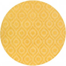 Artistic Weavers Central Park Zara Butter 7 ft. 9 in. x 7 ft. 9 in. Round Indoor Area Rug - AWHP4007-79RD - The Home Depot
