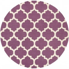 Artistic Weavers Pollack Stella Violet 8 ft. x 8 ft. Round Indoor Area Rug-AWAH2031-8RD - The Home Depot
