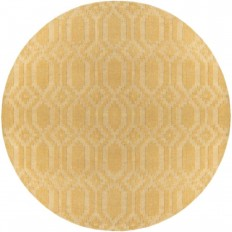 Artistic Weavers Metro Scout Yellow 7 ft. 9 in. x 7 ft. 9 in. Round Indoor Area Rug-AWMP4008-79RD - The Home Depot