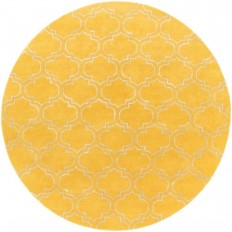Artistic Weavers Signature Emily Yellow 8 ft. x 8 ft. Round Indoor Area Rug-AWSG2149-8RD - The Home Depot