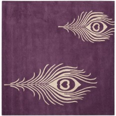 Safavieh Soho Purple/Ivory 8 ft. x 8 ft. Square Area Rug-SOH704A-8SQ - The Home Depot