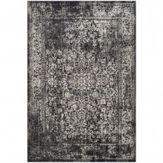 Safavieh Evoke Black/Grey 4 ft. x 6 ft. Area Rug-EVK256R-4 - The Home Depot
