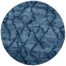 Safavieh Retro Blue/Dark Blue 8 ft. x 8 ft. Round Area Rug-RET2144-6570-8R - The Home Depot