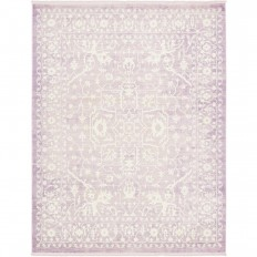 Unique Loom Arcadia Purple 8 ft. x 10 ft. Area Rug-3136452 - The Home Depot
