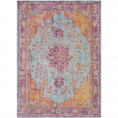 Artistic Weavers Arcelia Lavender 7 ft. 10 in. x 10 ft. 6 in. Area Rug-S00151070347 - The Home Depot