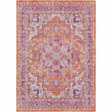Artistic Weavers Arcelia Orange 7 ft. 10 in. x 10 ft. 6 in. Area Rug-S00151070419 - The Home Depot