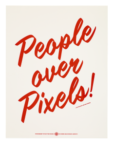 People Over Pixels, United States on Inspirationde