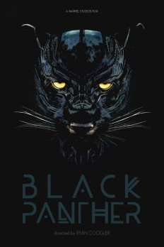 All hail Bast, the Panther god! Black Panther alternative movie poster on Inspirationde