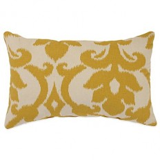 Azzure Oblong Throw Pillow in Gold - Bed Bath & Beyond