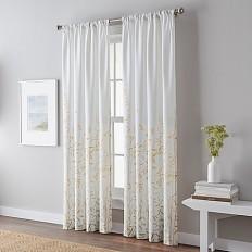 Meadow Rod Pocket Window Curtain Panel - Bed Bath & Beyond